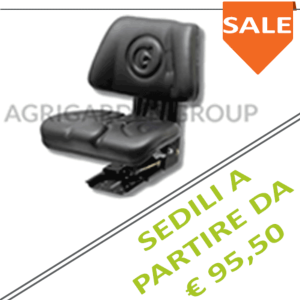 sedile trattore - Agrigarden Group