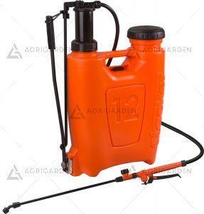Pompa zaino a pressione 12lt Stocker Art 243 arancione da 12 litri con peso da 2902gr.