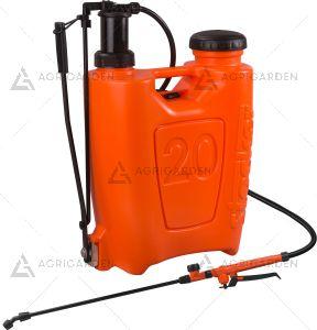 Pompa zaino a pressione 20lt Stocker Art 249 arancione da 20 litri con peso da 3094gr.
