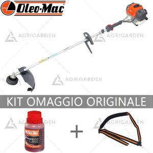 Decespugliatore a scoppio OleoMac BCH 400 S serie H potente e compatto da 40,2 cm3.
