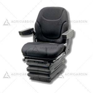 Sedile in tessuto nero