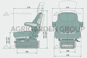 Sedile Grammer MSG 95g/721