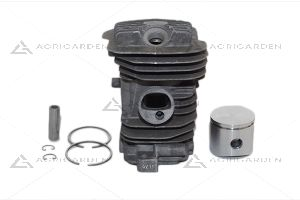 Cilindro e pistone motosega Efco: 137, mt 3700 (euro 2) Oleomac: 937, gs 370 (euro 2)