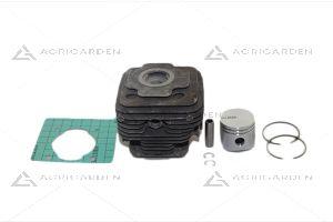 Cilindro completo decespugliatore Efco, Oleomac ds 3500 3800 s t, bc 350 380 s t, sparta 37 370 s