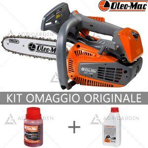 Motosega da potatura a scoppio OleoMac GST 250 per uso professionale con motore da 1,3HP e barra da 25cm