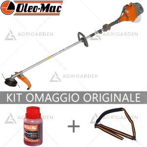 Decespugliatore a scoppio OleoMac Sparta 250 S leggero e comfortevole per uso privato da 25,4cm3.