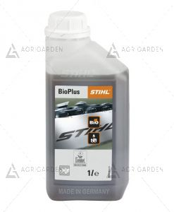 Olio catena BIOPLUS Stihl 1 Lt completamente biodegradabile con eccellente lubrificazione e adesione.