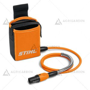 Marsupio AP Stihl con cavo di collegamento per attrezzatura con presa e lunghezza cavo 120cm.