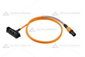 Cavo di collegamento per batterie AR L compatibile con le attrezzature Stihl con lunghezza cavo 180cm.