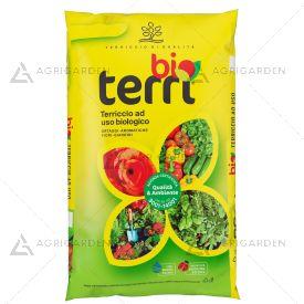 TerraBrill Terriccio biologico TERRI BIO sacco da 70lt per uso universale.