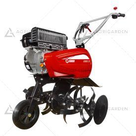 Motozappa a scoppio NIBBI 095 S per uso privato con motore benzina da 5,7HP e fresa da 82cm.