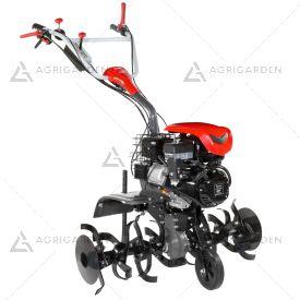 Motozappa a scoppio NIBBI 118 per uso professionale con motore benzina da 7,0HP e fresa da 100cm.