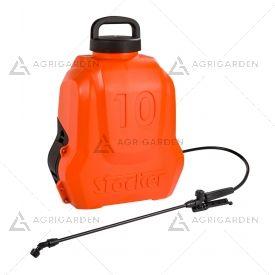 Pompa a zaino a batteria LI-ION Stocker Art 238 da 10 litri con batteria da 2,5Ah.