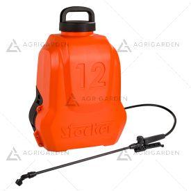 Pompa a zaino a batteria LI-ION Stocker Art 239 da 12 litri con batteria da 2,5Ah.