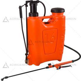 Pompa zaino a pressione 16lt Stocker Art 248 arancione da 16 litri con peso da 3050gr.