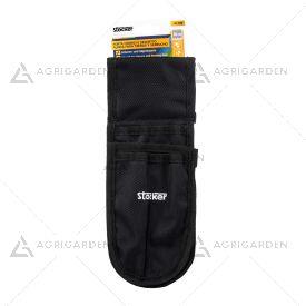 Porta forbice e seghetto Stocker Art 418 da applicare alla cintura molto resistente.