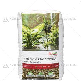 ARGILLA ESPANSA LIAFLOR granuli rossi e rotondi sacco da 10lt per idrocoltura, drenante e decorativa.