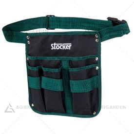 Cintura porta attrezzi Stocker Art 491 con lunghezza cintura da 87 a 124cm.