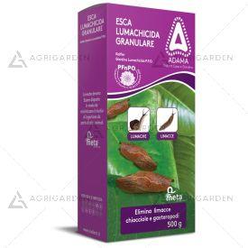 Esca lumachicida granulare KOLFLOR confezione da 500gr per piante ornamentali e colture floricole.