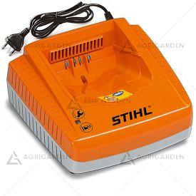 Caricabatterie rapido AL 300 Stihl compatibile con le batterie AP, AK, AR con indicatore dello stato di funzionamento al LED.