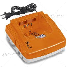 Caricabatterie rapido AL 500 Stihl compatibile con le batterie AP, AK, AR con indicatore dello stato di funzionamento al LED.