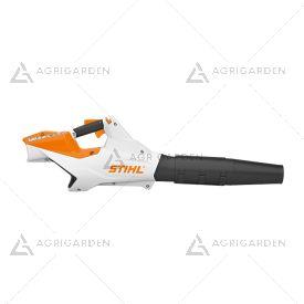 Soffiatore a batteria Stihl BGA 86 potente e molto silenzioso per uso professionale.