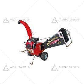 Biotrituratore a scoppio Zanon BIO 10-B con motore Honda benzina 20,8HP con diametro di taglio massimo 8,5cm.