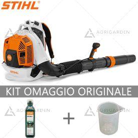 Soffiatore a scoppio spalleggiato Stihl BR 800 C-E il più potente e performante di Stihl per uso professionale.