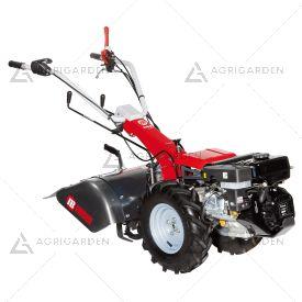 Motocoltivatore a scoppio NIBBI BRIK 5 S per uso semiprofessionale con motore diesel da 6,7HP e fresa da 60cm.