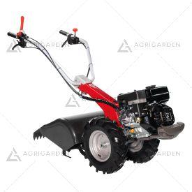 Motocoltivatore a scoppio NIBBI BRIK per uso privato con motore benzina da 5,4HP e fresa da 50cm.