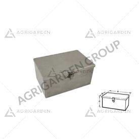 Cassetta porta attrezzi in lamiera piegata e saldata