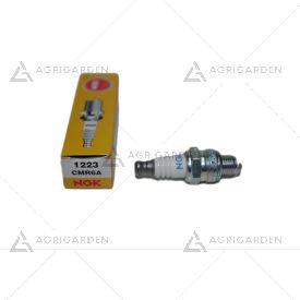 Candela NGK CMR6A per decespugliatore Robin e motore a benzina trattorino tagliaerba
