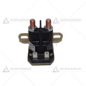 """Solenoide 12v - 2x5/16"""" 24 unf - 4 poli - 2 fissaggi - tipo ggp 118736110/0"""