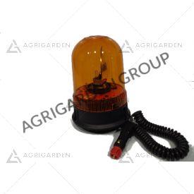 Lampeggiante CE base magnetica e ventosa 12/24v Calotta girofaro arancio per trattore