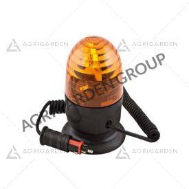 Lampeggiante CE base magnetica ventosa Microboule-R