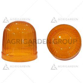 Calotta arancio diametro 140 mm per lampeggiante tipo grande