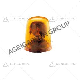 Calotta arancio diametro 133 mm per lampeggiante Cobo trattore