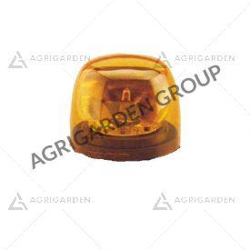 Calotta arancio diametro 123 mm per lampeggiante Cobo trattore