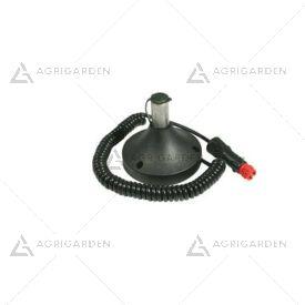 Supporto lampeggiante con magnete cablato per girofaro