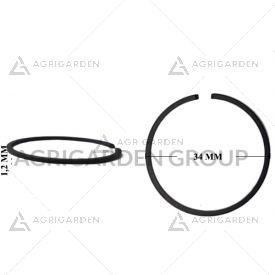 Segmento fascia elastica diametro 34 spessore 1