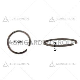 Segmento fascia elastica diametro 33 spessore 1