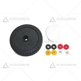 Ruota tagliaerba universale diametro 175 mm