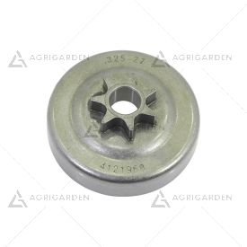 Rocchetto pignone campana frizione 325 z7 commerciale motosega Alpina