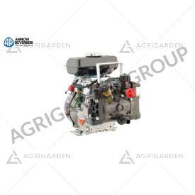 Motopompa AR 202/Rato 4T 2,5 HP, regolatore di pressione su carrello. Per trattamento