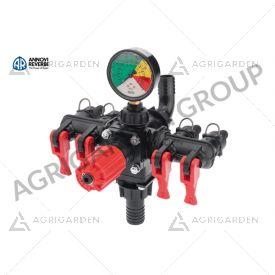 Gruppo comando 4 vie ECM, per pompa a membrana a bassa pressione AR 135 Bp/C Annovi Reverberi