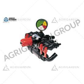 Gruppo comando 4 vie, per pompa a membrana a bassa pressione AR 80 Bp/C alta pressione AR 134 Bp/C