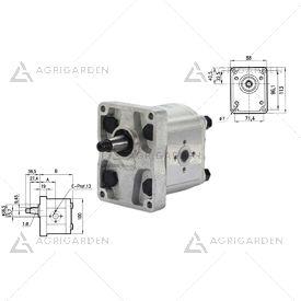 Pompa ad ingranaggio idraulica gruppo 2