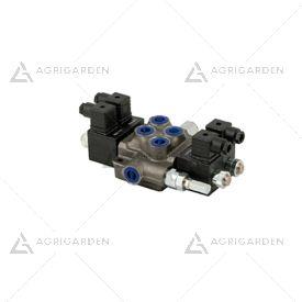 Distributore oleodinamico elettrico tipo MD 2 leve