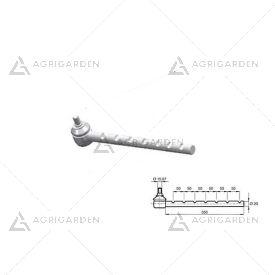 Testina di sterzo diametro filetto 20