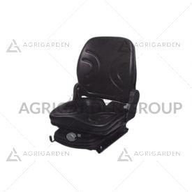 Sedile meccanico per caricatore in pvc con regolazione peso e schienale